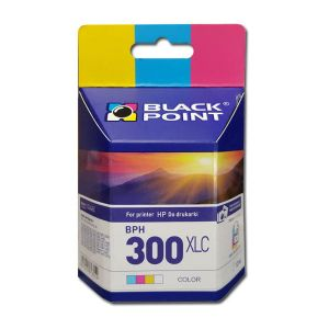Tusz Black Point do HP 300 XL Color