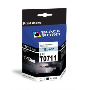Tusz Epson BPE T0711 czarny Black Point